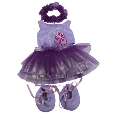 CuddleBear ballerina knuffelpakje