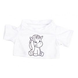 CuddleBear inkleur shirt eenhoorn
