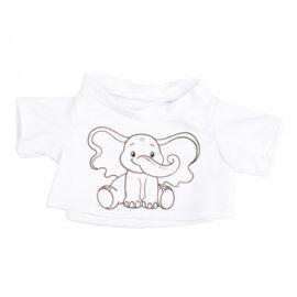 CuddleBear inkleur shirt olifant