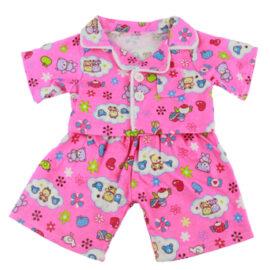 CuddleBear Roze pyjama berenkleding