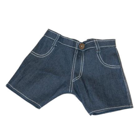 CuddleBear denim korte broek berenkleding
